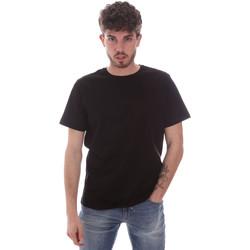 Ruhák Férfi Rövid ujjú pólók Navigare NV71003 Fekete