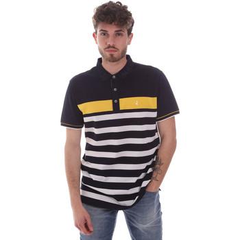 Ruhák Férfi Rövid ujjú galléros pólók Navigare NV70028 Kék