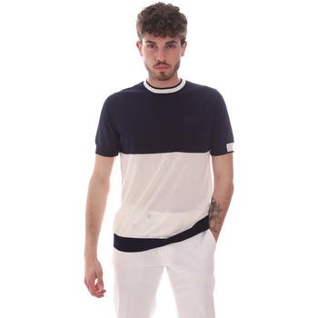 Ruhák Férfi Rövid ujjú pólók Antony Morato MMSW01166 YA100062 Kék