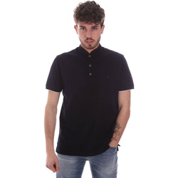 Ruhák Férfi Rövid ujjú galléros pólók Navigare NV72072 Kék
