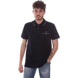 Ruhák Férfi Rövid ujjú galléros pólók Navigare NV72068 Kék