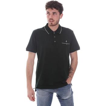 Ruhák Férfi Rövid ujjú galléros pólók Navigare NV72068 Zöld