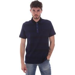 Ruhák Férfi Rövid ujjú galléros pólók Navigare NV70035 Kék