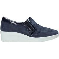 Cipők Női Belebújós cipők Enval 7271122 Kék