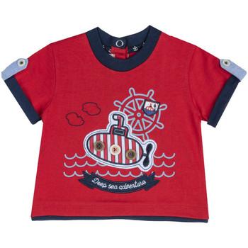 Ruhák Gyerek Rövid ujjú pólók Chicco 09067162000000 Piros