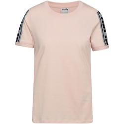 Ruhák Női Rövid ujjú pólók Diadora 502175812 Rózsaszín