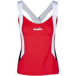 Ruhák Női Trikók / Ujjatlan pólók Diadora 102175658 Piros