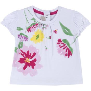 Ruhák Lány Rövid ujjú pólók Chicco 09067270000000 Fehér