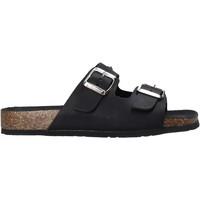 Cipők Női Papucsok Bionatura 10THEDB-I-GAUNER Fekete