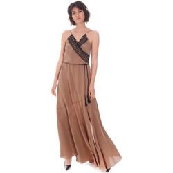 Ruhák Női Hosszú ruhák Cristinaeffe 0704 2498 Bézs