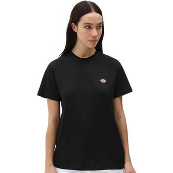 Ruhák Női Rövid ujjú pólók Dickies DK0A4XDABLK1 Fekete
