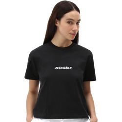 Ruhák Női Rövid ujjú pólók Dickies DK0A4XBABLK1 Fekete