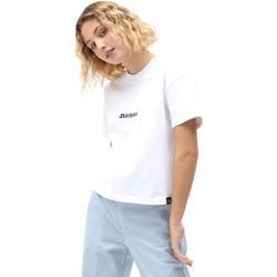 Ruhák Női Rövid ujjú pólók Dickies DK0A4XBAWHX1 Fehér