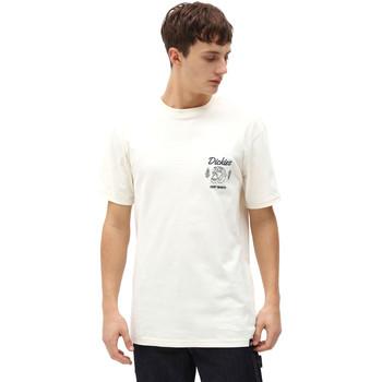 Ruhák Férfi Rövid ujjú pólók Dickies DK0A4X9NECR1 Fehér