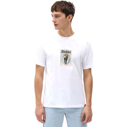 Ruhák Férfi Rövid ujjú pólók Dickies DK0A4X9IWHX1 Fehér