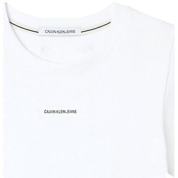 Ruhák Női Rövid ujjú pólók Calvin Klein Jeans J20J215699 Fehér