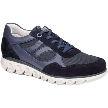 Cipők Férfi Rövid szárú edzőcipők CallagHan 12919 Kék
