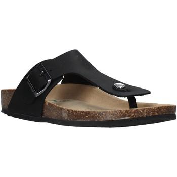 Cipők Férfi Lábujjközös papucsok Bionatura 11FINGU-I-CRHNER Fekete