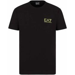 Ruhák Férfi Rövid ujjú pólók Ea7 Emporio Armani 3KPT06 PJ03Z Fekete