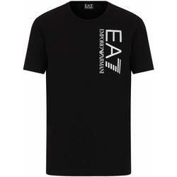 Ruhák Férfi Rövid ujjú pólók Ea7 Emporio Armani 3KPT10 PJ7RZ Fekete