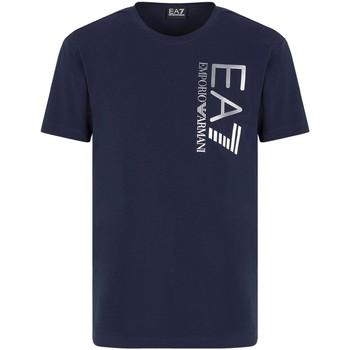 Ruhák Férfi Rövid ujjú pólók Ea7 Emporio Armani 3KPT10 PJ7RZ Kék
