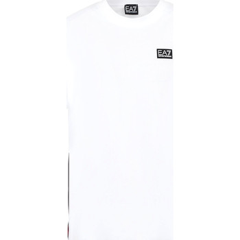 Ruhák Férfi Rövid ujjú pólók Ea7 Emporio Armani 3KPT13 PJ02Z Fehér