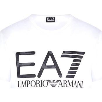 Ruhák Férfi Rövid ujjú pólók Ea7 Emporio Armani 3KPT27 PJ7CZ Fehér