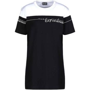 Ruhák Női Rövid ujjú pólók Ea7 Emporio Armani 3KTT59 TJBEZ Fekete