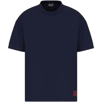 Ruhák Férfi Rövid ujjú pólók Ea7 Emporio Armani 3KPT58 PJ02Z Kék