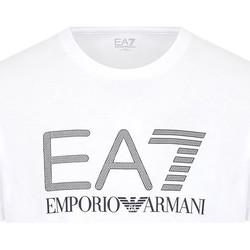 Ruhák Férfi Rövid ujjú pólók Ea7 Emporio Armani 3KPT81 PJM9Z Fehér