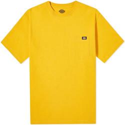 Ruhák Férfi Rövid ujjú pólók Dickies DK0A4TMOB591 Sárga