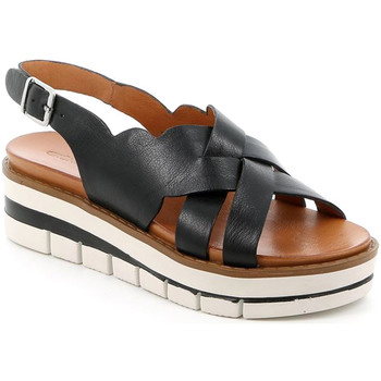 Cipők Női Szandálok / Saruk Grunland SA2366 Fekete