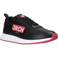 Cipők Férfi Rövid szárú edzőcipők John Richmond 10131/CP B Fekete