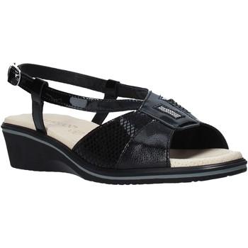 Cipők Női Szandálok / Saruk Susimoda 270414 Fekete
