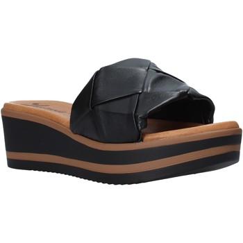 Cipők Női Papucsok Susimoda 1034 Fekete