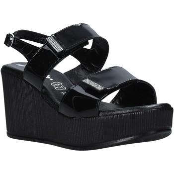 Cipők Női Szandálok / Saruk Susimoda 390241 Fekete