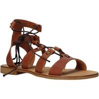 Cipők Női Szandálok / Saruk Keys K-4880 Barna