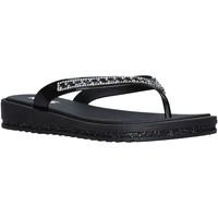 Cipők Női Lábujjközös papucsok Keys K-5000 Fekete