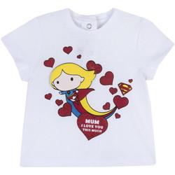Ruhák Lány Rövid ujjú pólók Chicco 09067360000000 Fehér