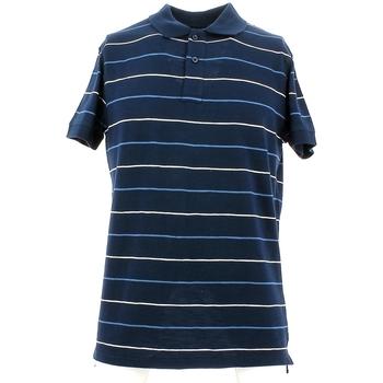 Ruhák Férfi Rövid ujjú galléros pólók City Wear THMR5171 Kék