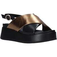 Cipők Női Szandálok / Saruk Apepazza S1ZAFIRA02/LEA Fekete