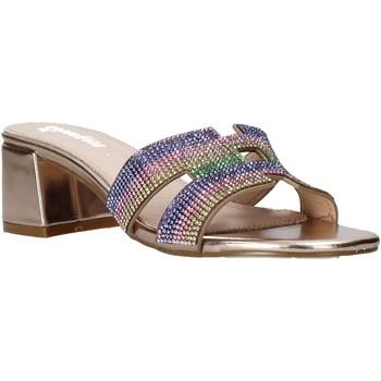 Cipők Női Papucsok Gold&gold A21 GD320 Rózsaszín