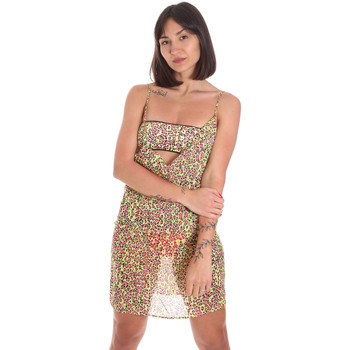Ruhák Női Rövid ruhák Me Fui M20-0456X2 Sárga