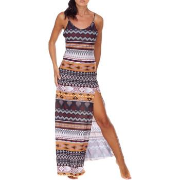 Ruhák Női Hosszú ruhák Me Fui M20-0080X1 Barna