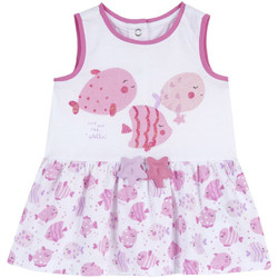 Ruhák Lány Rövid ruhák Chicco 09003813000000 Fehér