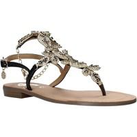 Cipők Női Szandálok / Saruk Gold&gold A21 GL621 Fekete