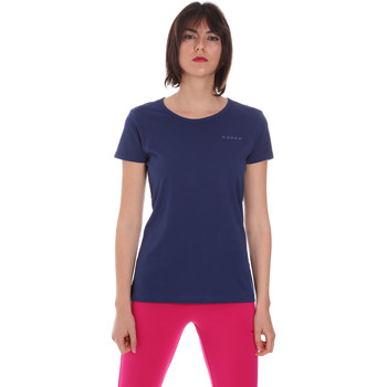 Ruhák Női Rövid ujjú pólók Diadora 102175886 Kék