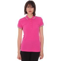 Ruhák Női Rövid ujjú galléros pólók Diadora 102161015 Rózsaszín
