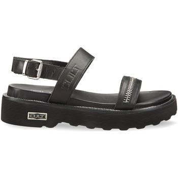 Cipők Női Szandálok / Saruk Cult CLW328700 Fekete