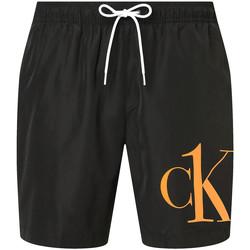 Ruhák Férfi Rövidnadrágok Calvin Klein Jeans KM0KM00590 Fekete